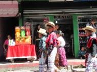 "Host ""hermano"" in a San Pedro festival ""desfile"" (parade)"