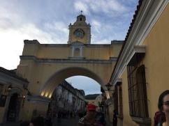 Arco de Santa Catalina, Antigua - our pickup spot before heading to NPH