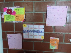 """My """"hogar"""" made me feel so welcome my first week...and gave me some great decorations for my room!!"""